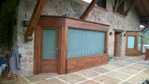 Resultado de la madera exterior tratada