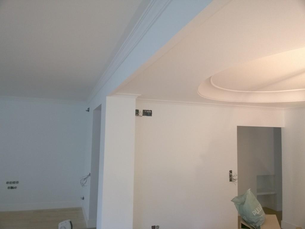 Bio pintura de paredes en techos de interior