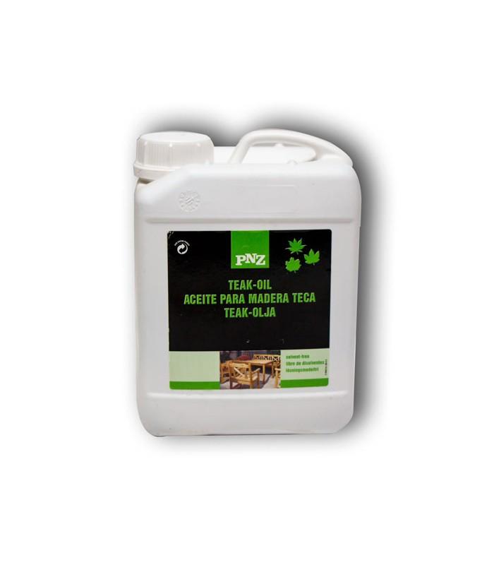 Aceite teka especial para muebles de terraza y jardín al exterior.