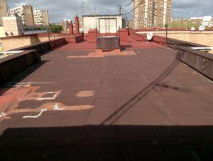 Impermeabilización de terraza azotea