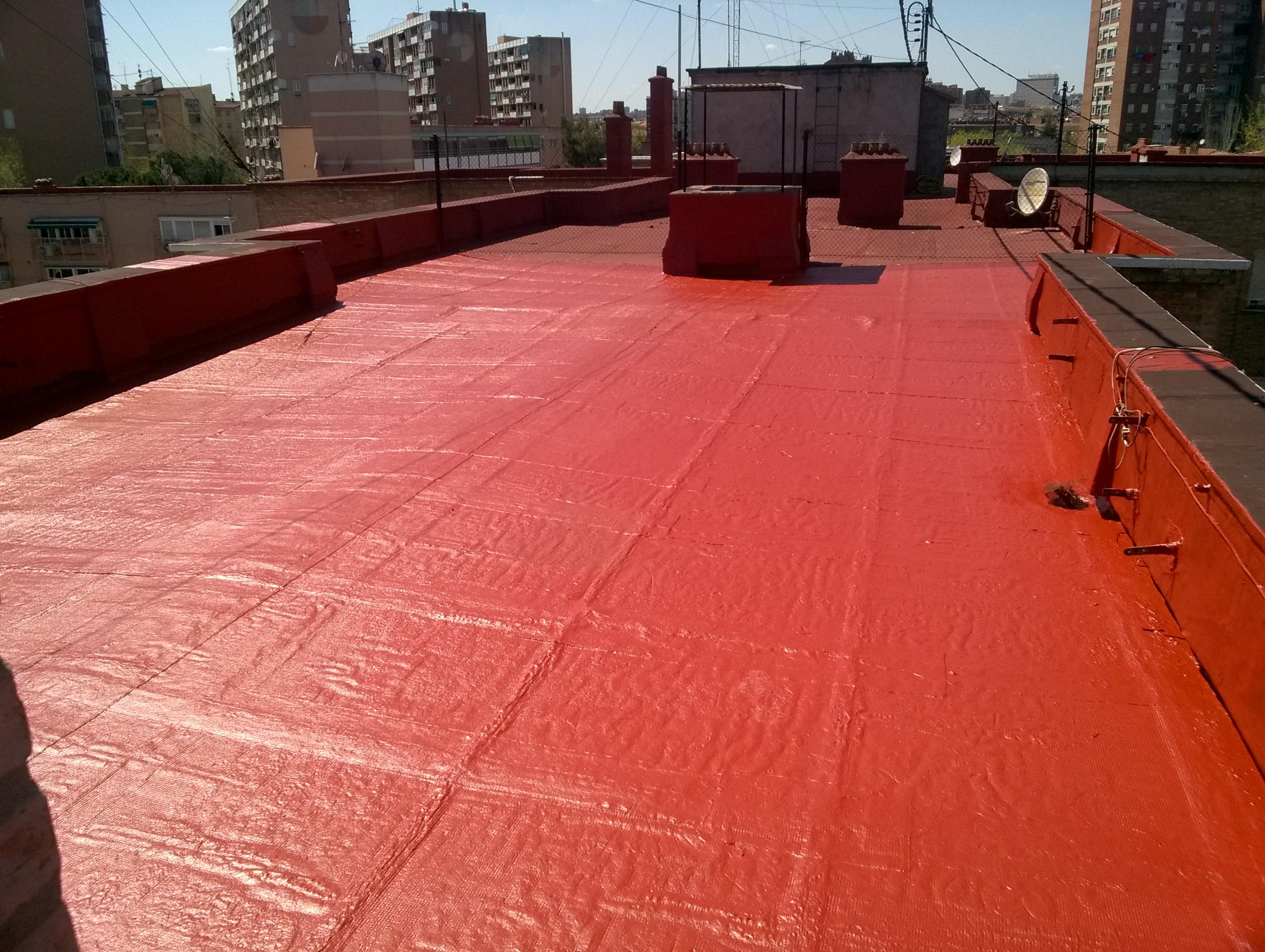 Impermeabilizar terraza sin levantar el suelo