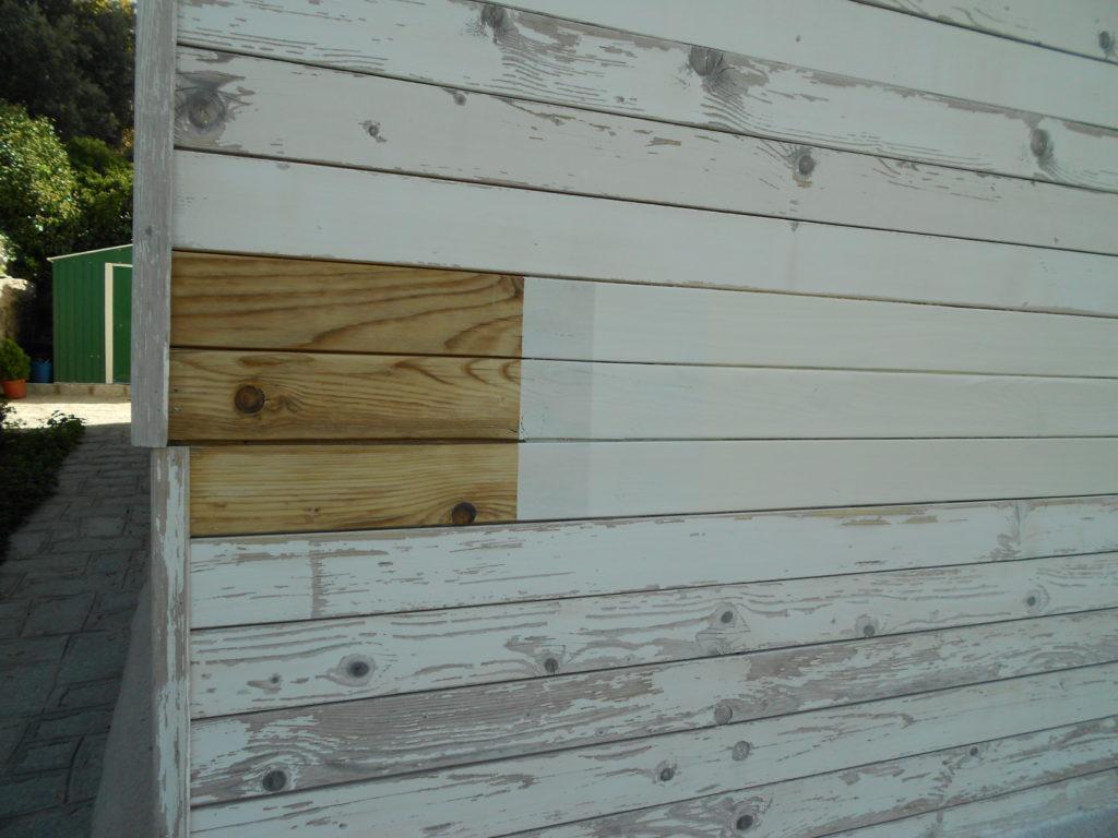 Rehabilitaciónes en casas de madera