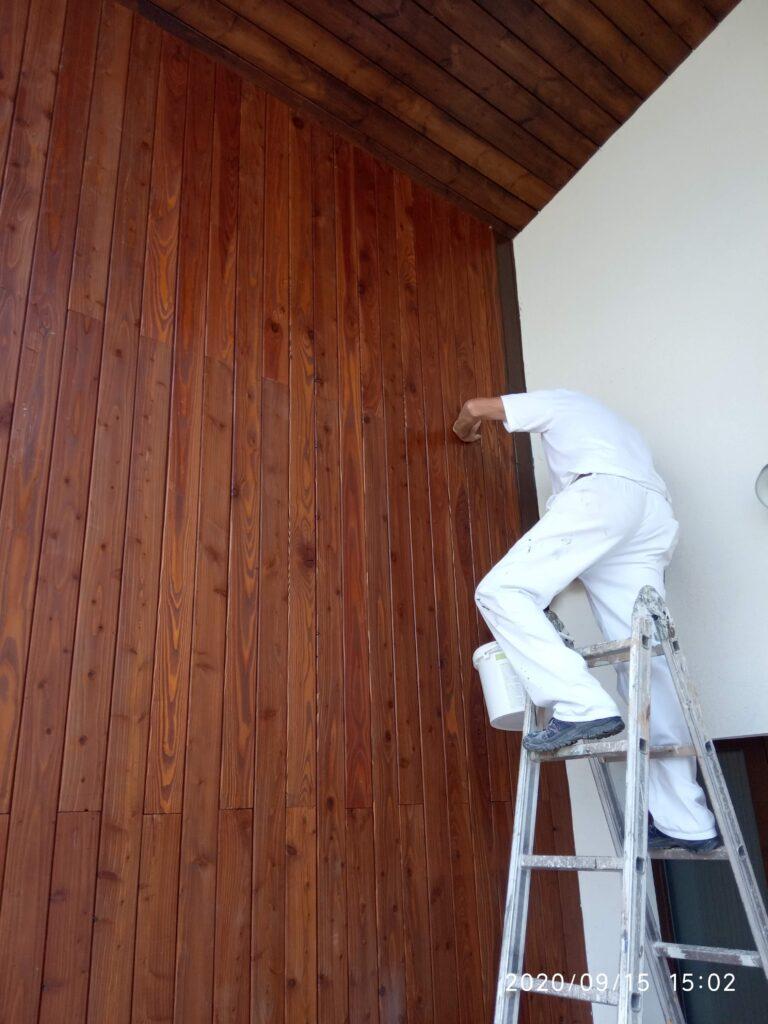 Barniz ecológico para madera